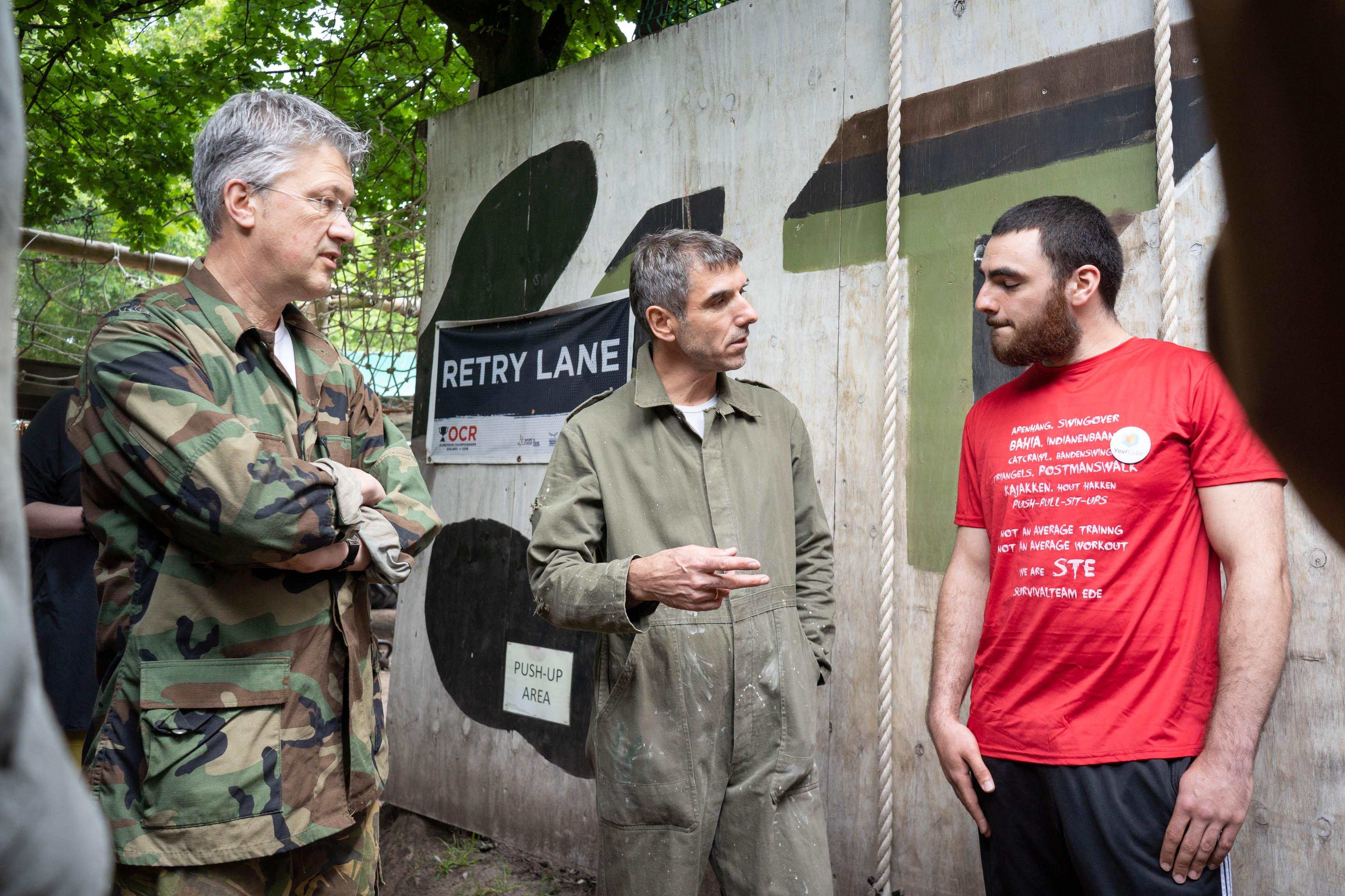 Staatssecretaris Paul Blokhuis op bezoek